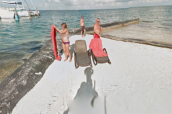 Topless Sunbather Exposed By Google Street View
