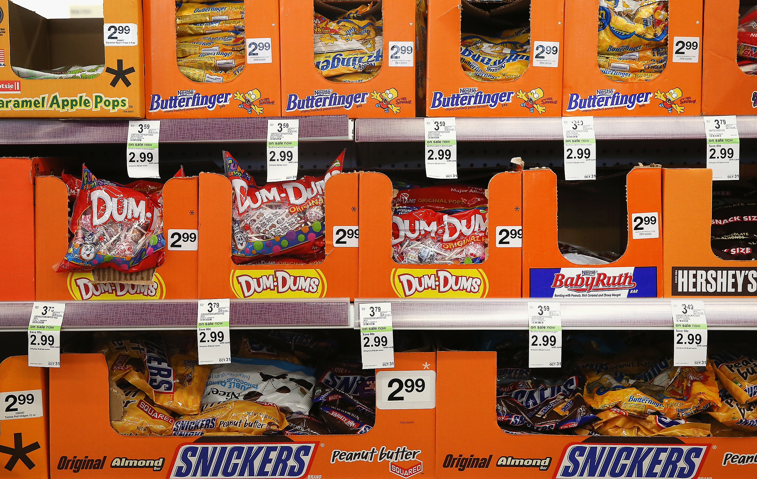 ohio man arrested for peeing on halloween candy at kohl's
