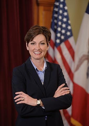 Iowa's Lt. Governor Kim Reynolds.
