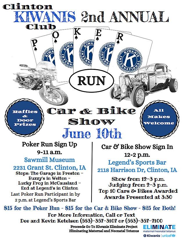 Poker Run 2017 Poster