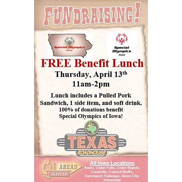 Texas Roadhouse - Special Olympics