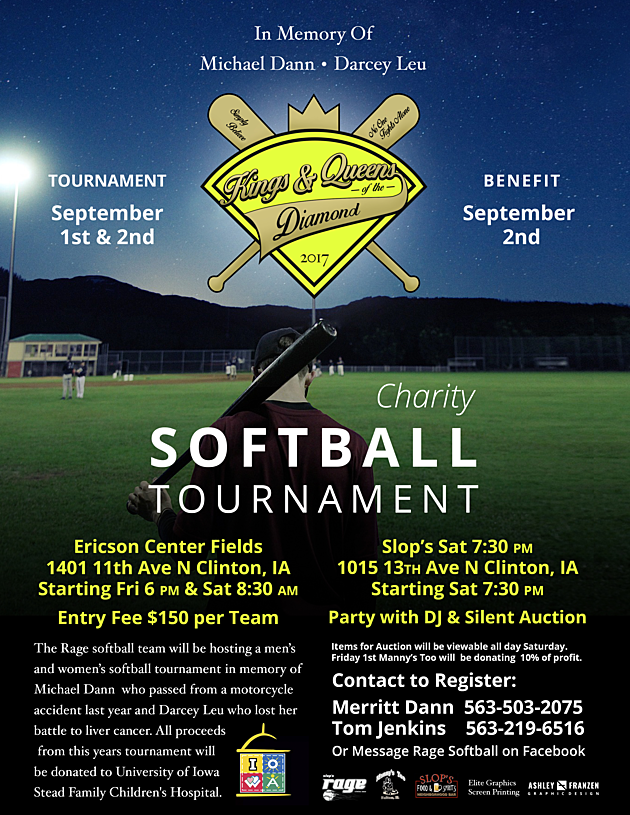 Charity Softball Tournament