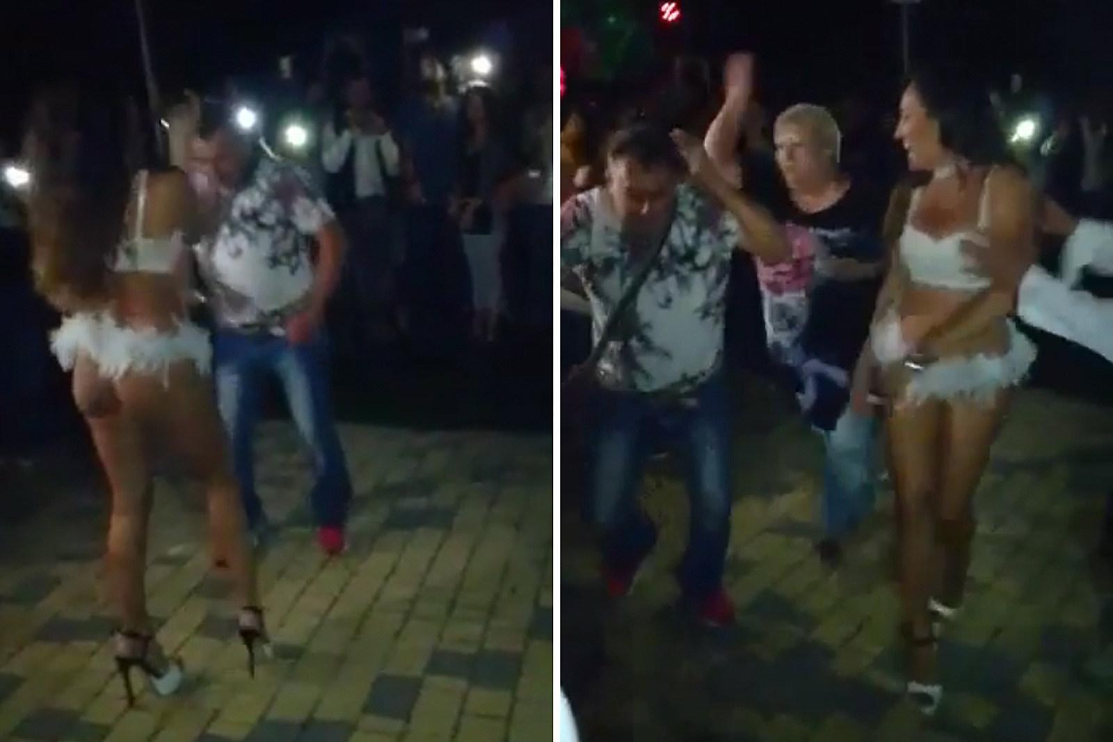 Wife sexy dance